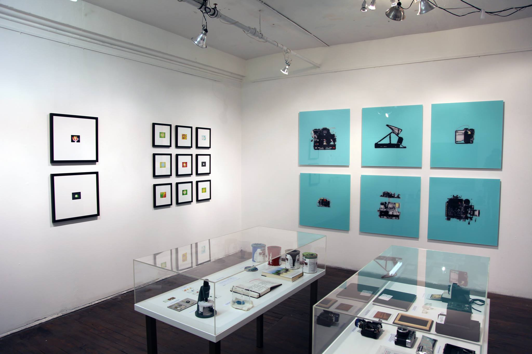 2-D sciart on view at the Visual Voice Gallery