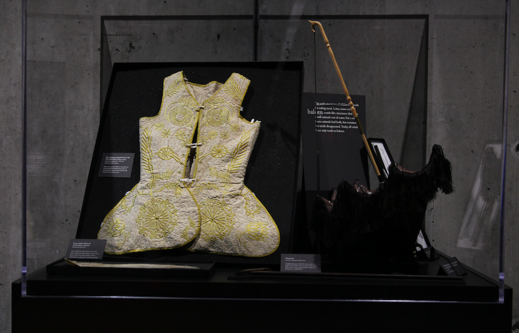 Accessories from the clothing collections of Claus Jahnke & Ivan Sayers,  view in Skin & Bones.
