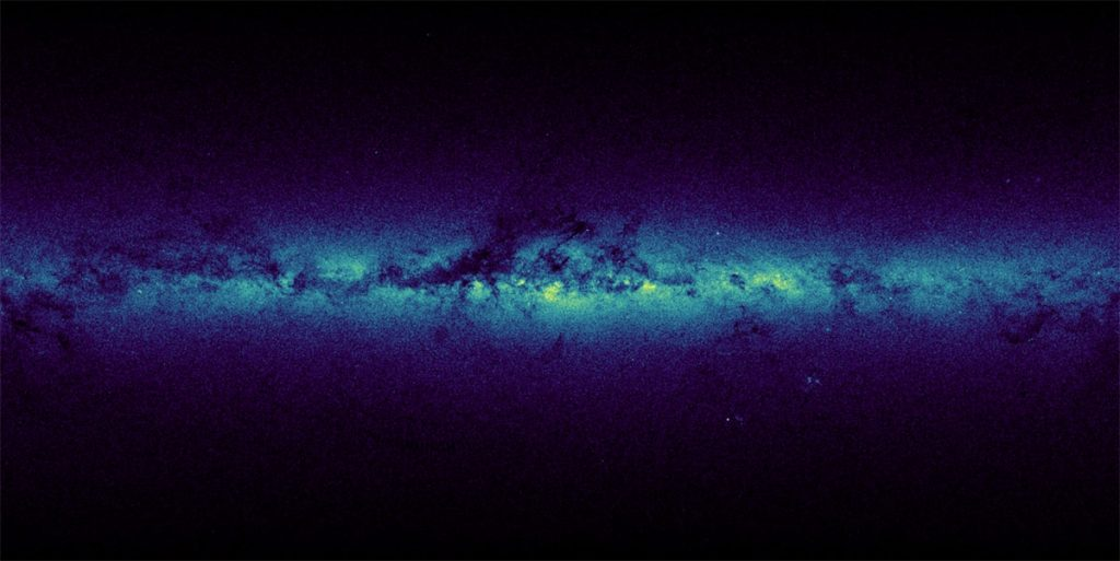 Astronomical data visualization of GAIA Data Release 1