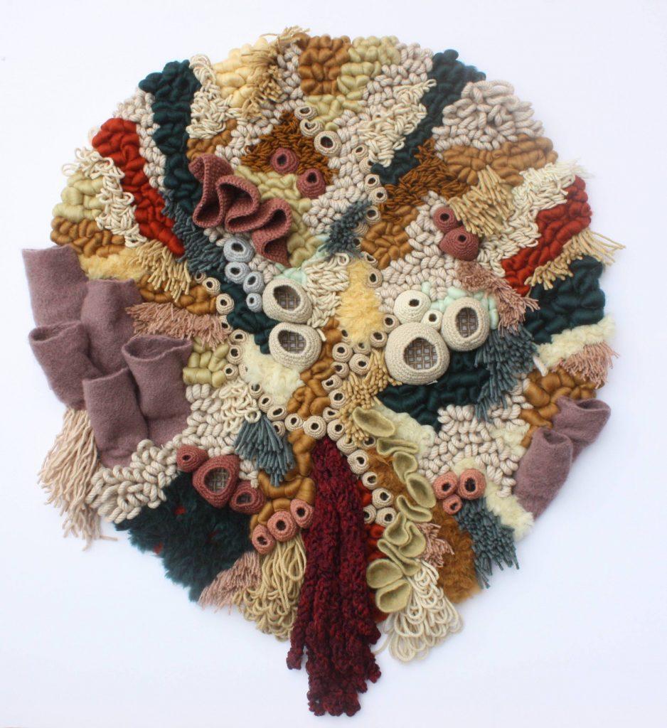 Vanessa Barragão's colorful coral