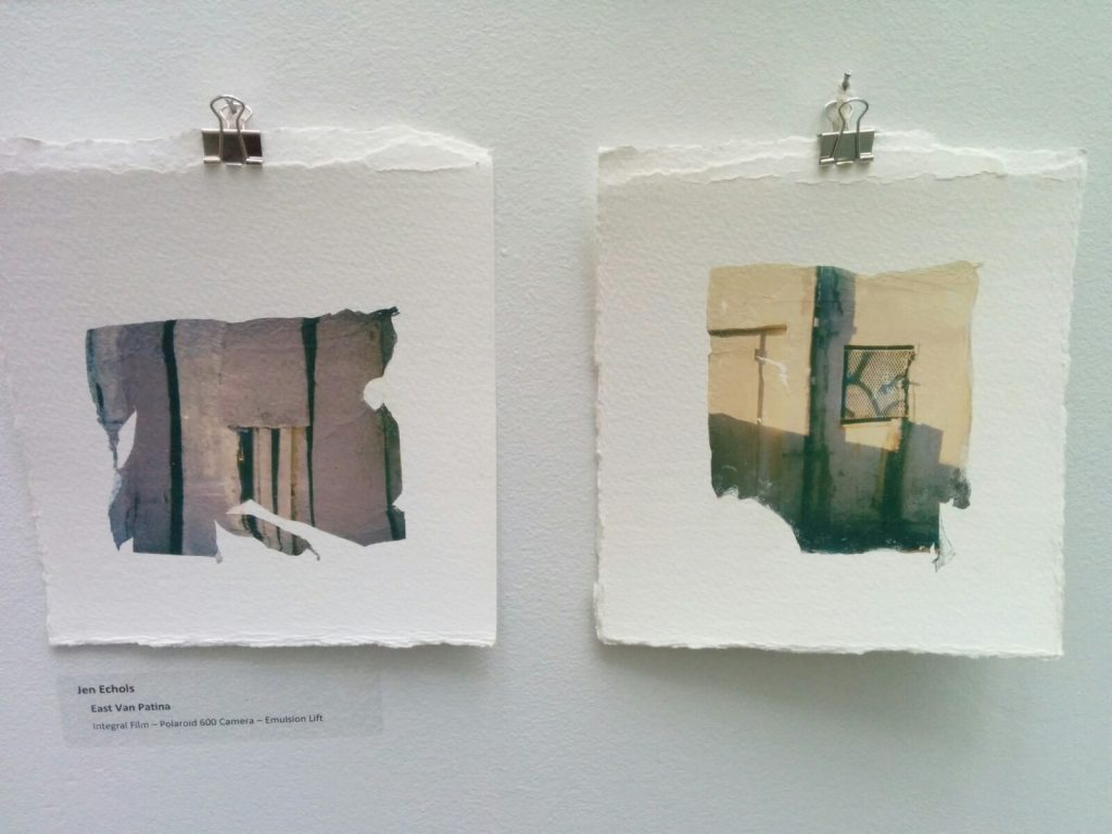 two soft pastel photos from the An Instant Instant show at Science World