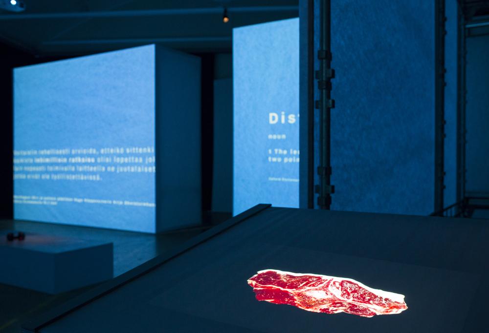 image of a slab of meat (artwork)