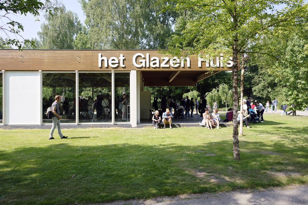 Photo of het glazen huis in the amstelpark