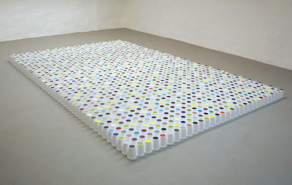 sciart installation by Vera Scekic