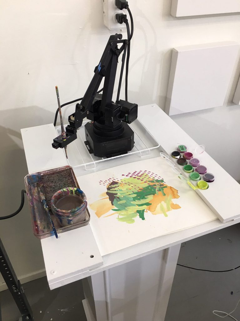 A painting robot