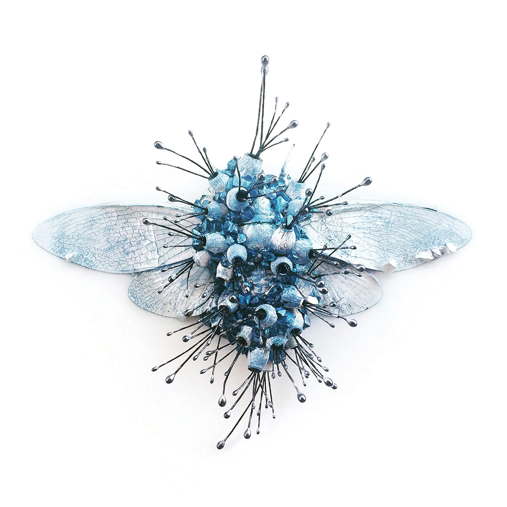 a blue bug, artwork
