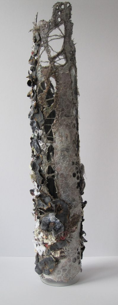 Cylinder that looks like a decaying tree branch.